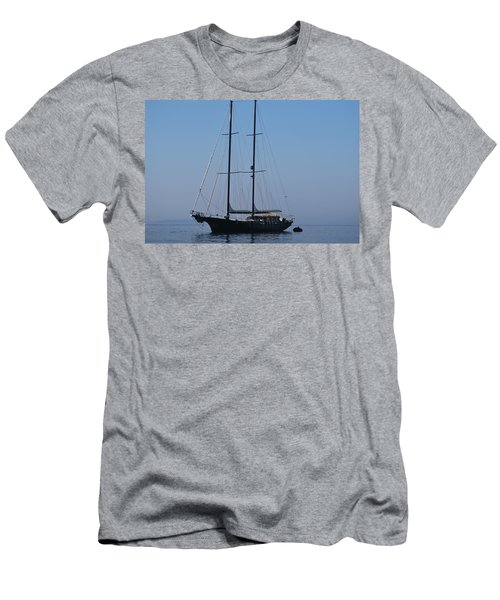 Black Ship Men's T-Shirt (Athletic Fit)