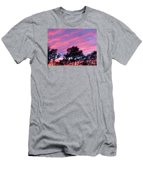 Blazing Pines Men's T-Shirt (Athletic Fit)