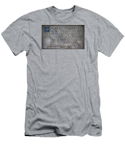 Blessing Men's T-Shirt (Slim Fit) by Stephen Stookey