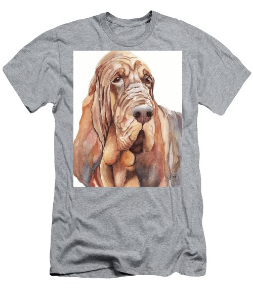 Bloodhound Men's T-Shirt (Athletic Fit)