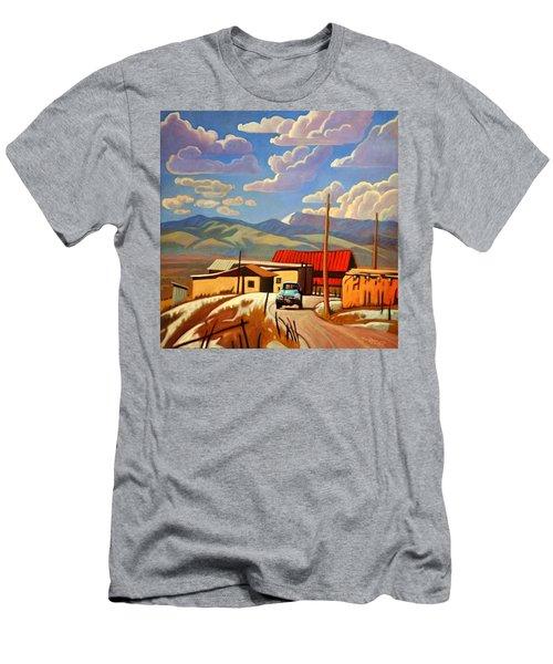 Blue Apache Men's T-Shirt (Slim Fit)