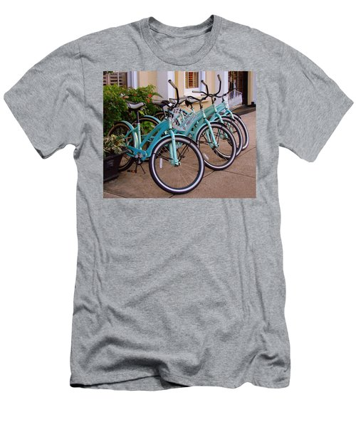 Blue Bikes Men's T-Shirt (Athletic Fit)