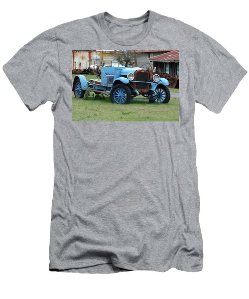 Blue Chevy  Men's T-Shirt (Athletic Fit)