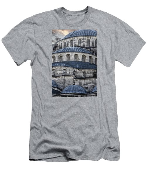 Blue Dawn Blue Mosque Men's T-Shirt (Slim Fit) by Joan Carroll