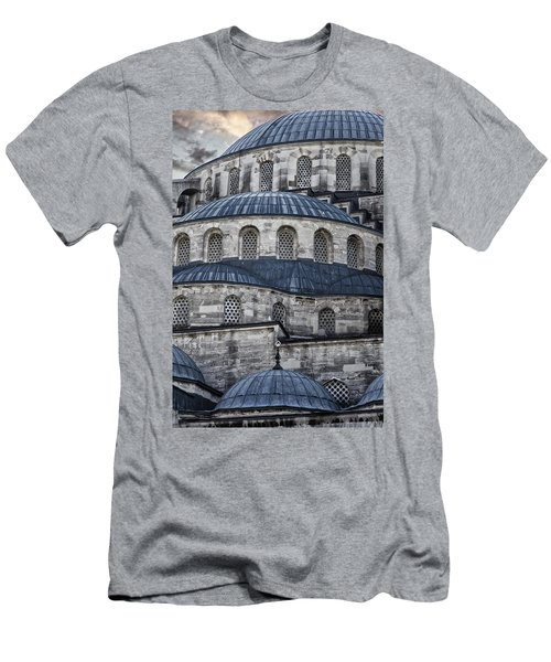 Blue Dawn Blue Mosque Men's T-Shirt (Athletic Fit)