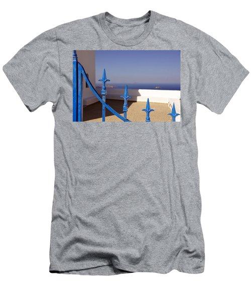 Blue Gate Men's T-Shirt (Athletic Fit)