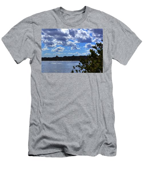 Men's T-Shirt (Athletic Fit) featuring the photograph Blue Sky by Tyson Kinnison