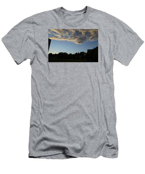 Blue Visions 4 Men's T-Shirt (Slim Fit) by Teo SITCHET-KANDA