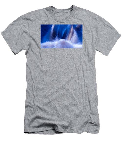 Blue Water Men's T-Shirt (Slim Fit) by Torbjorn Swenelius
