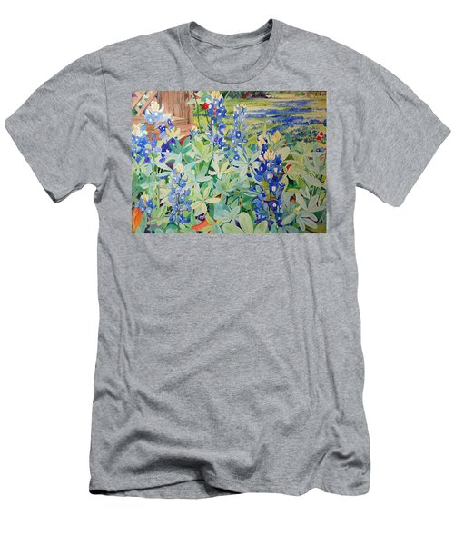 Bluebonnet Beauties Men's T-Shirt (Athletic Fit)