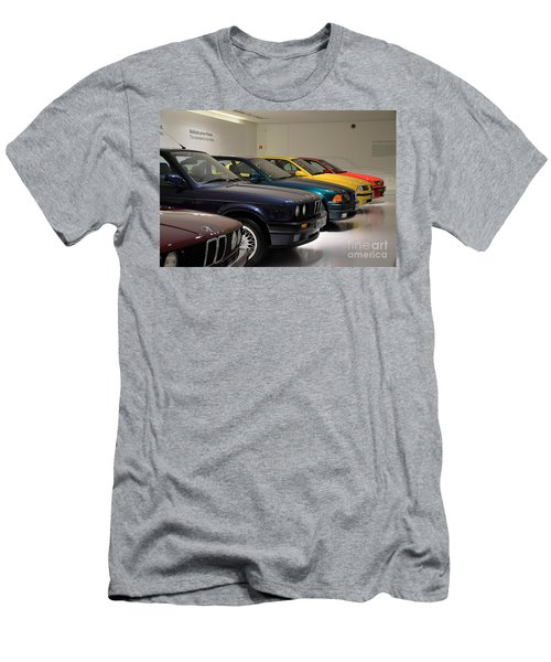 Bmw Cars Through The Years Munich Germany Men's T-Shirt (Athletic Fit)