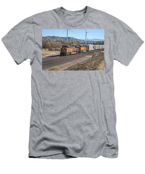 Bnsf 7454 Men's T-Shirt (Athletic Fit)