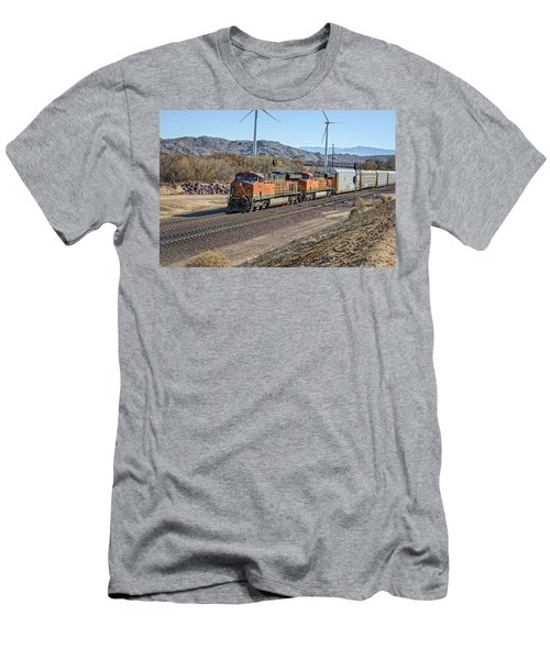 Bnsf 7454 Men's T-Shirt (Athletic Fit)