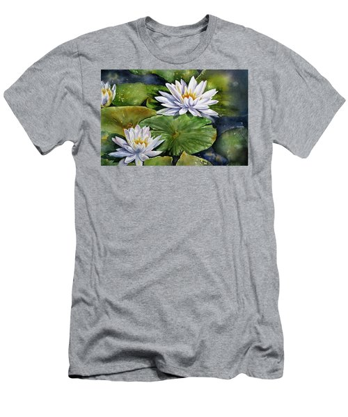 Boardwalk Lilies Men's T-Shirt (Athletic Fit)