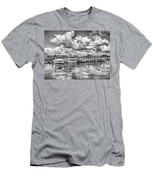 Men's T-Shirt (Athletic Fit) featuring the photograph Boats by Howard Salmon