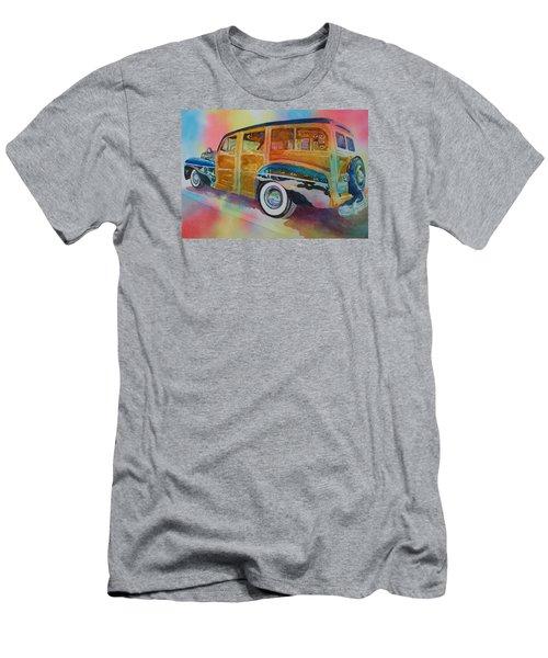 Boca Classic 42 Woody Men's T-Shirt (Slim Fit) by Tara Moorman