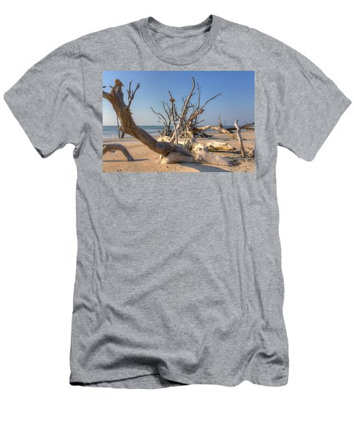 Boneyard Beach Men's T-Shirt (Athletic Fit)