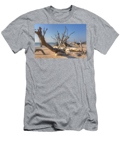 Boneyard Beach Men's T-Shirt (Athletic Fit)