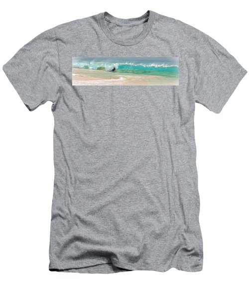 Boogie Board Surfing Men's T-Shirt (Athletic Fit)