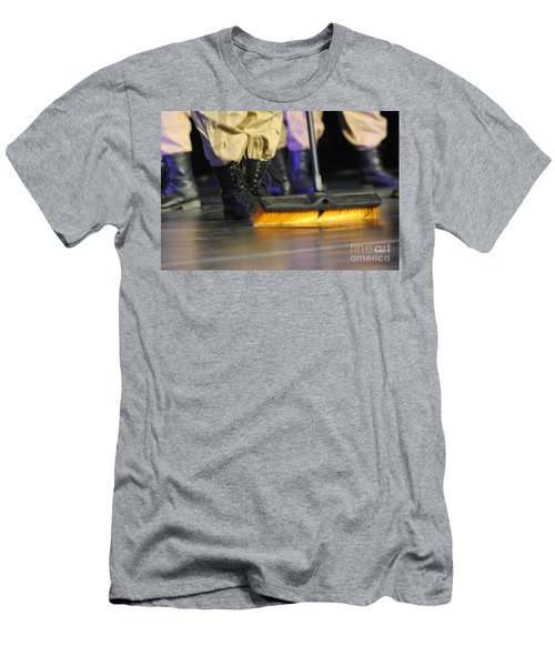 Boots And Brooms Men's T-Shirt (Athletic Fit)