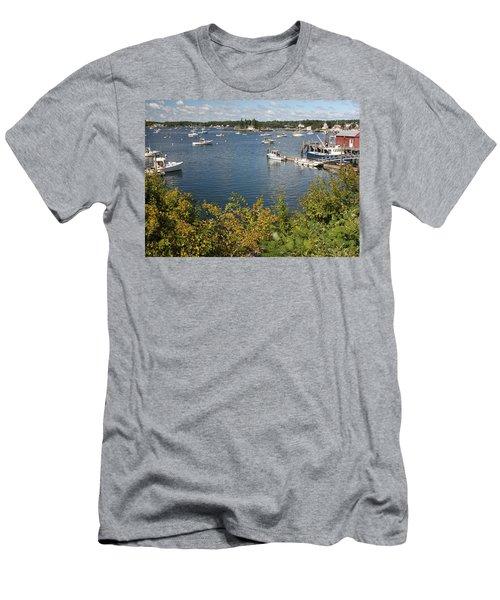Boothbay Harbor Vista Men's T-Shirt (Athletic Fit)