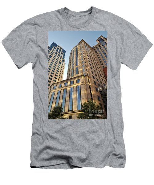 Boston Skyscrapers Men's T-Shirt (Athletic Fit)
