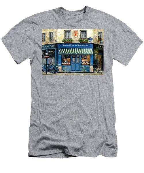 Boulangerie De Montmartre Men's T-Shirt (Athletic Fit)