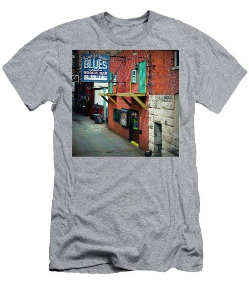 Bourbon Street Blues Men's T-Shirt (Athletic Fit)