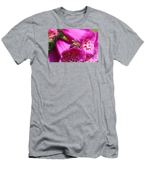Bracing For A Good Drink Men's T-Shirt (Slim Fit) by Lucinda VanVleck