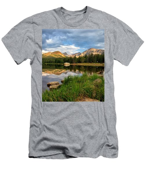 Brainard Lake Reflections Men's T-Shirt (Athletic Fit)