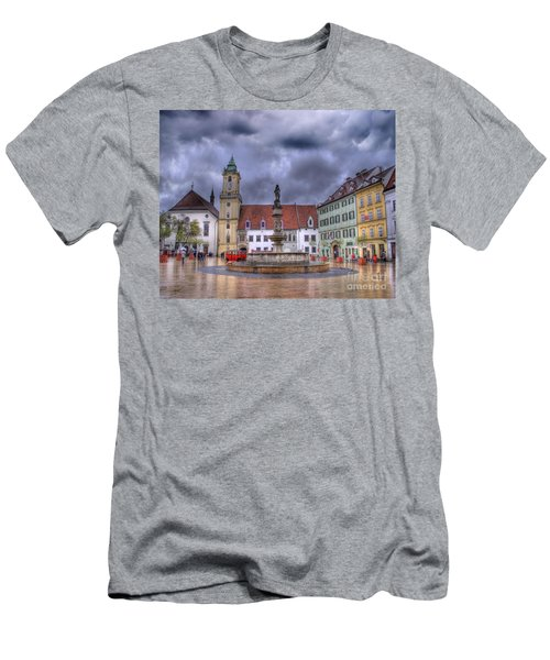 Bratislava Old Town Hall Men's T-Shirt (Athletic Fit)
