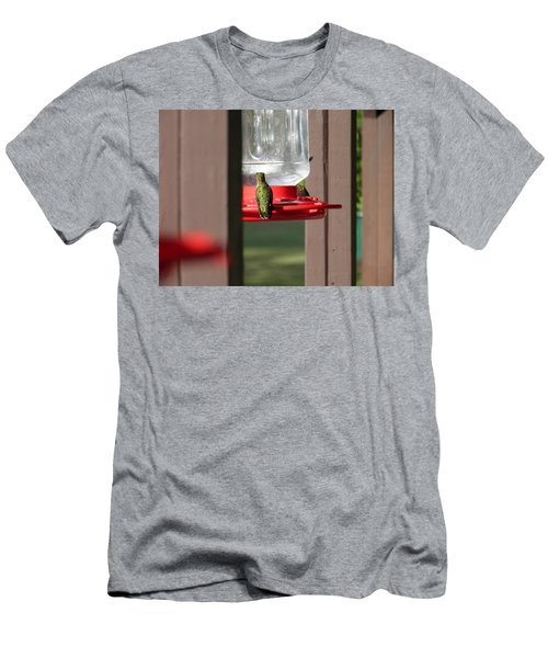 Men's T-Shirt (Slim Fit) featuring the photograph Breakfast  by Nick Kirby
