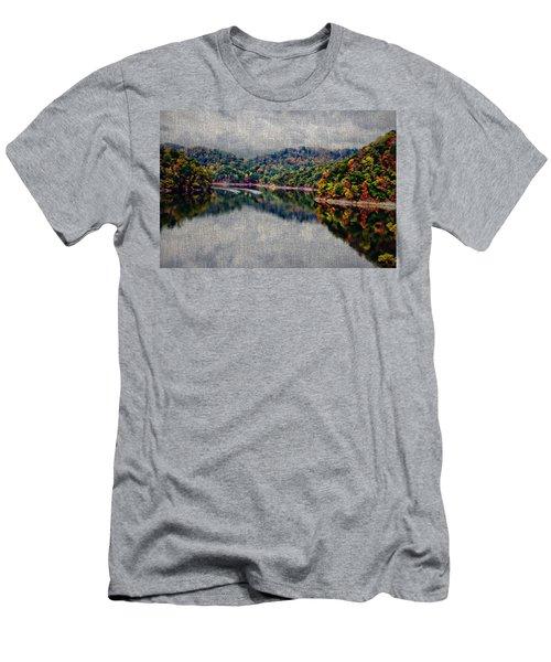 Breaking The Mirrow Men's T-Shirt (Slim Fit) by Tom Culver