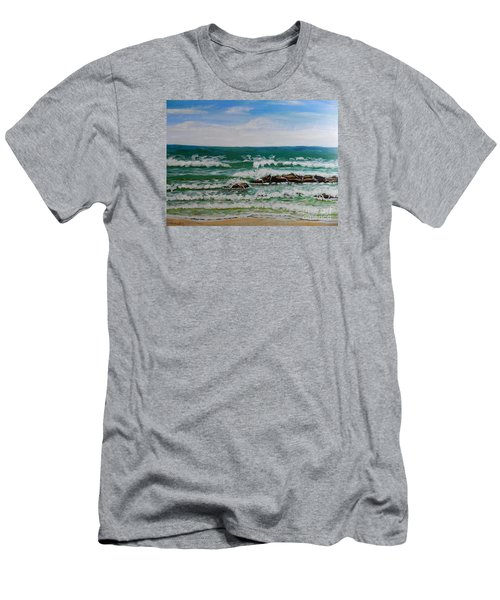 Breaking Waves Men's T-Shirt (Slim Fit)