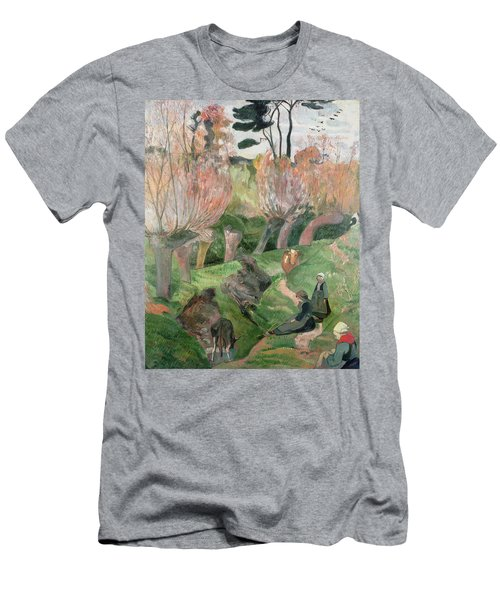 Breton Landscape  Men's T-Shirt (Athletic Fit)