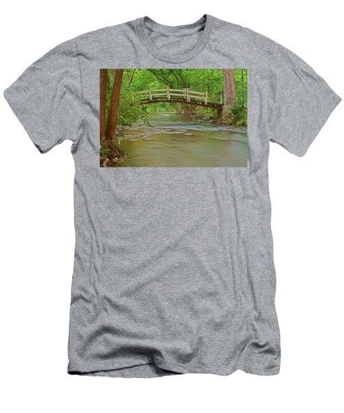 Bridge Over Valley Creek Men's T-Shirt (Athletic Fit)