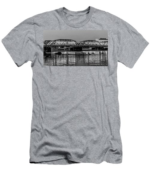Trenton Makes Bridge Men's T-Shirt (Athletic Fit)