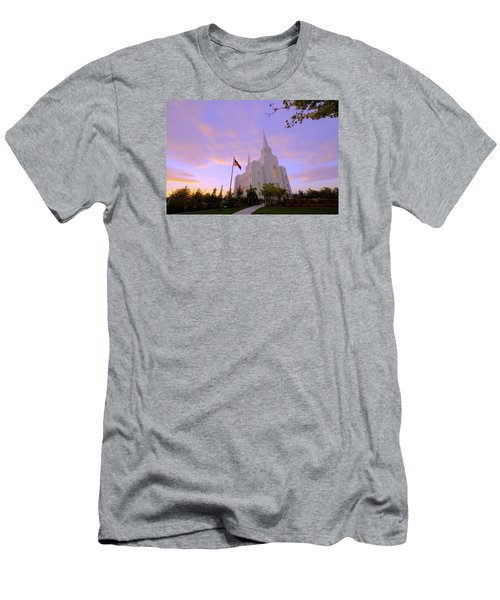 Brigham City Temple I Men's T-Shirt (Athletic Fit)