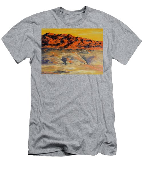 Brilliant Montana Mountains And Foothills Men's T-Shirt (Athletic Fit)