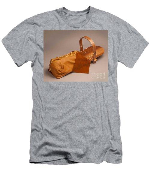 Buckskin Cradleboard Men's T-Shirt (Athletic Fit)
