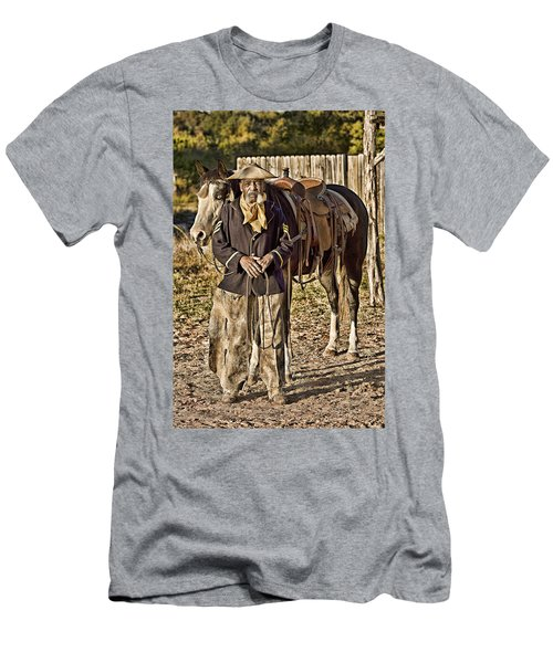 Buffalo Soldier Men's T-Shirt (Athletic Fit)