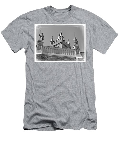 Men's T-Shirt (Slim Fit) featuring the photograph Burg Hohenzollern by Carsten Reisinger
