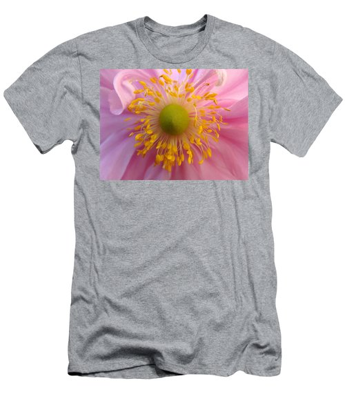 Windflower Men's T-Shirt (Slim Fit) by Cheryl Hoyle