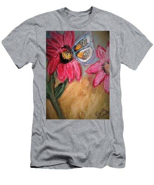 Butterfly Breakfast Men's T-Shirt (Athletic Fit)