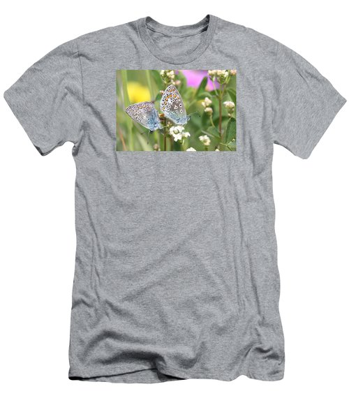 Butterfly Lovers Men's T-Shirt (Athletic Fit)