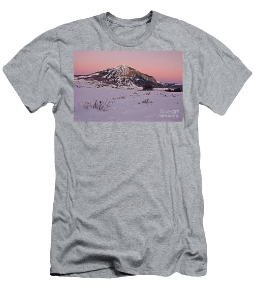 Butte's Winter Glow Men's T-Shirt (Athletic Fit)