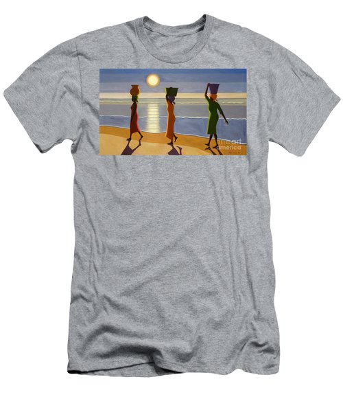 By The Beach Men's T-Shirt (Athletic Fit)