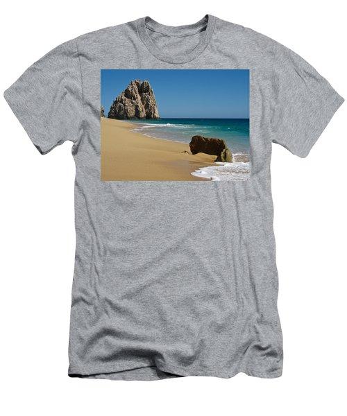 Cabo San Lucas Beach 1 Men's T-Shirt (Athletic Fit)