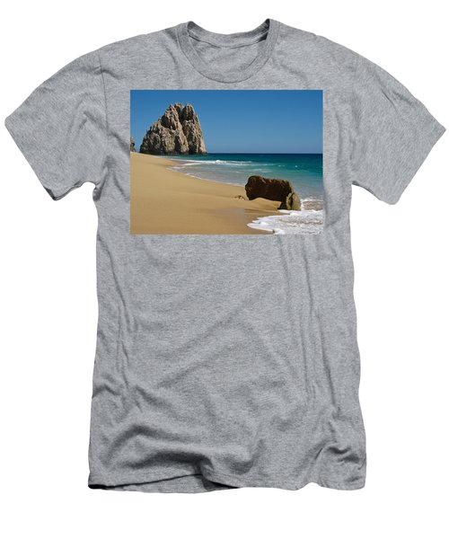 Cabo San Lucas Beach 1 Men's T-Shirt (Athletic Fit)