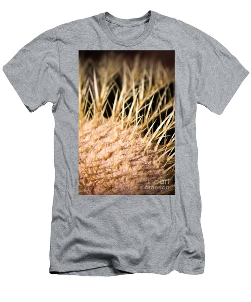 Men's T-Shirt (Athletic Fit) featuring the photograph Cactus Skin by John Wadleigh